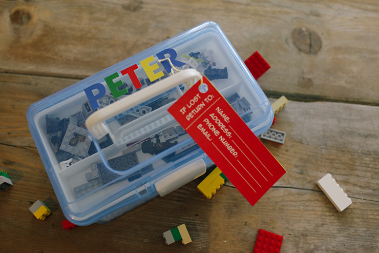 This Lego Case is such a simple and easy DIY!