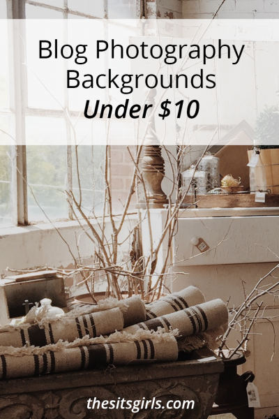 3 easy and inexpensive ways to create stunning blog photography backgrounds for less than $10.