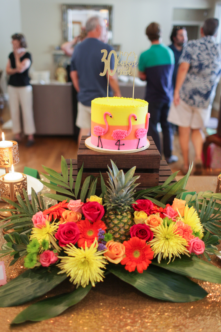 These lush tropical arrangements are all the rage!