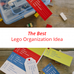This DIY Lego storage case will solve all your Lego problems! It's great for travel, too. Don't forget to grab your free Lost and Found Tag Printable!