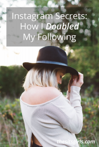Instagram secrets that helped me double my Instagram followers twice. This post has easy tips to help you grow your following and engagement.