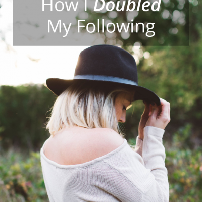 Instagram Secrets: How I Doubled My Following