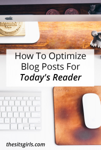 It's one thing to get people to your blog. It's another hurdle to get them to stay around and read your posts. Use these tips to optimize blog posts for busy readers.