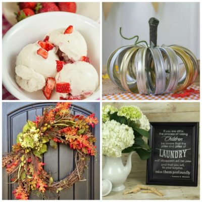 September 13th: Recipe & DIY Linky
