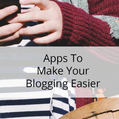 10 Apps That Make Blogging Easier