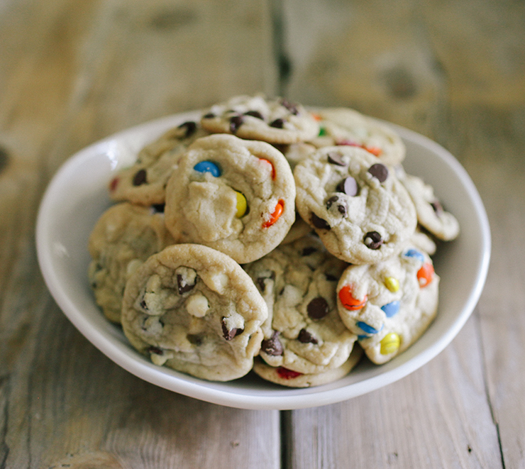 These are the most delicious chocolate chip cookies ever!