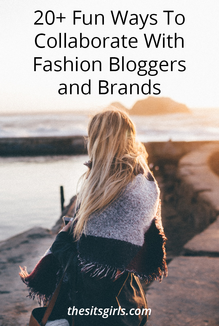 More than 20 ideas to help you collaborate with fashion bloggers and work with brands! Use this list to plan your editorial calendar.