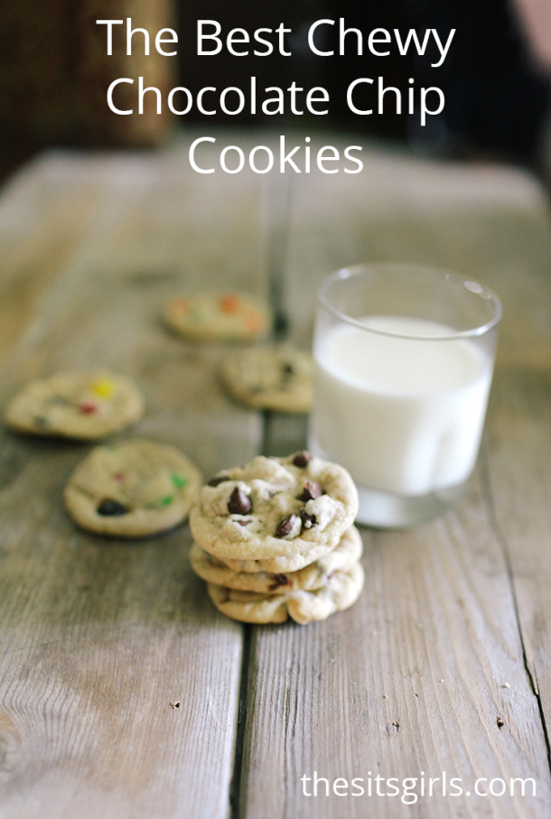 THomemade cookies are extra special. This recipe will help you make the best chewy chocolate chip cookies ever, and has great cookie baking tips you don't want to miss.