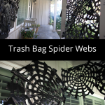 Trash Bag Spider Webs