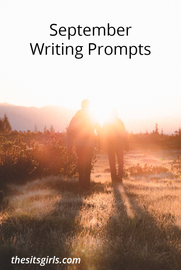 Do you need a little writing inspiration? We have writing prompts for September (one for each day!) to help you write and blog all month long.