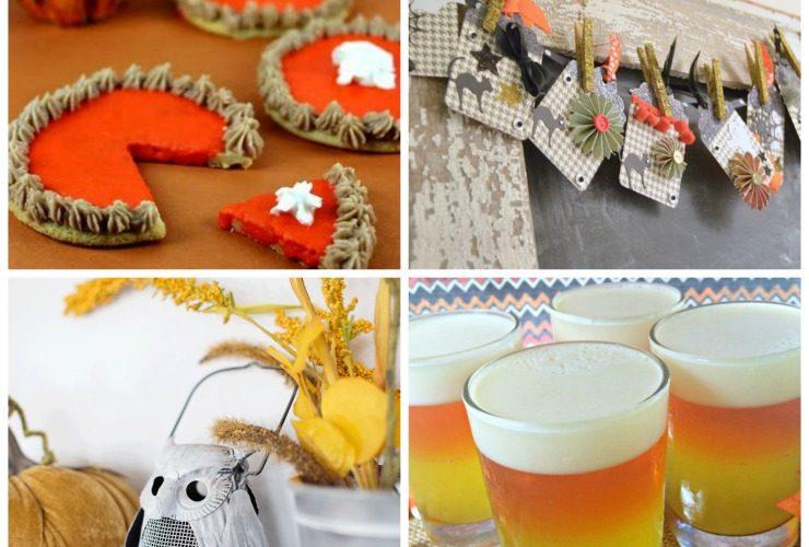 October 25th: Recipe & DIY Linky