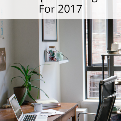 10 Ways To Prep Your Blog For 2017