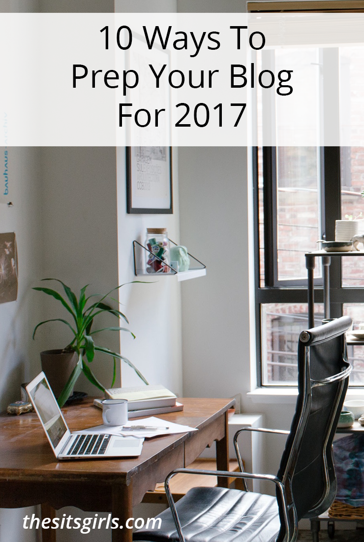 Don't keep setting the same goals year after year for your blog and never achieving them. Follow these 10 Ways to Prep Your Blog for 2017 and make it the most successful year yet!