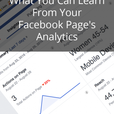 5 Things You Can Learn from Your Facebook Page Analytics