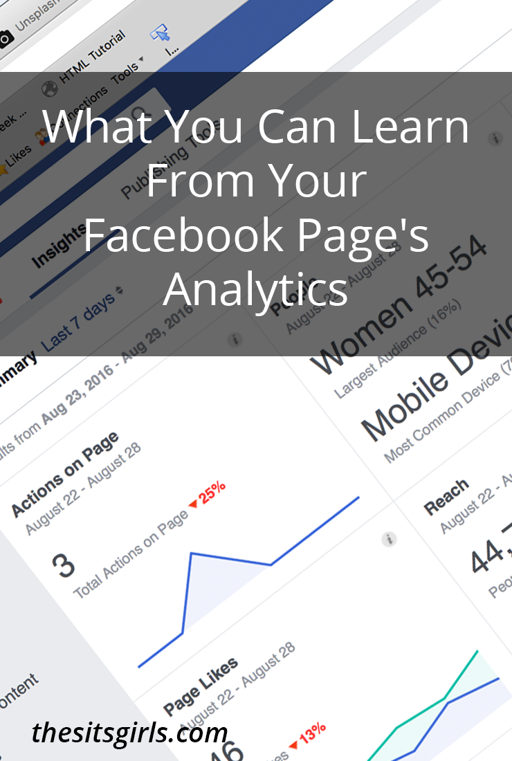 If you want to grow your Facebook page, you need to use the free Facebook page analytics they provide. Learn who your audience is, what makes them engage, and more!
