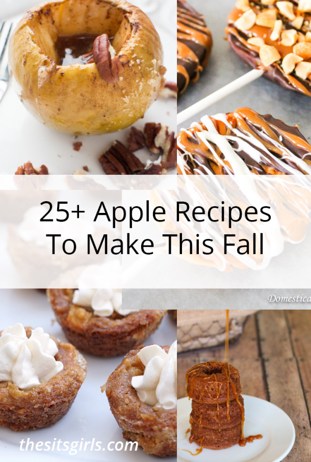 This list of more than 25 amazing apple recipes is everything you need to celebrate fall apple season. Delicious ways to make apple recipes easy.