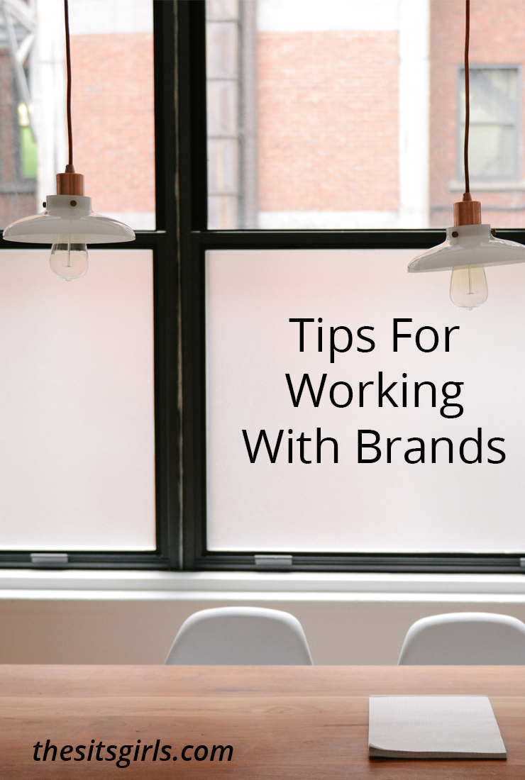 A great way to make money blogging is by working with brands. These tips will help you get started, no matter how small or new your blog is.