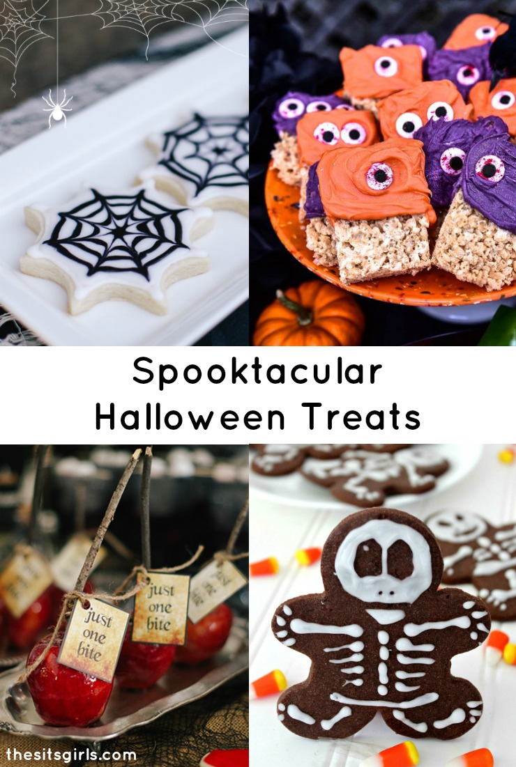 Great ideas for spooktacular Halloween desserts!