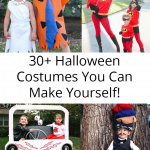 Get inspired by this great list of 30+ ideas for homemade Halloween costumes! How will you dress up this year?