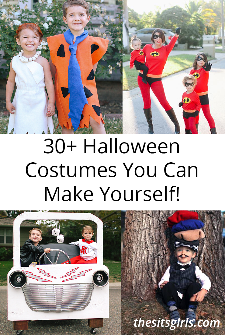 Homemade halloween costumes 30 ideas for diy halloween fun get inspired by this great list of 30 ideas for homemade halloween costumes how solutioingenieria Gallery