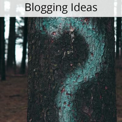 What to do When You Run Out of Blogging Ideas