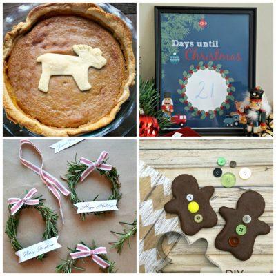 November 29th: Recipe & DIY Linky