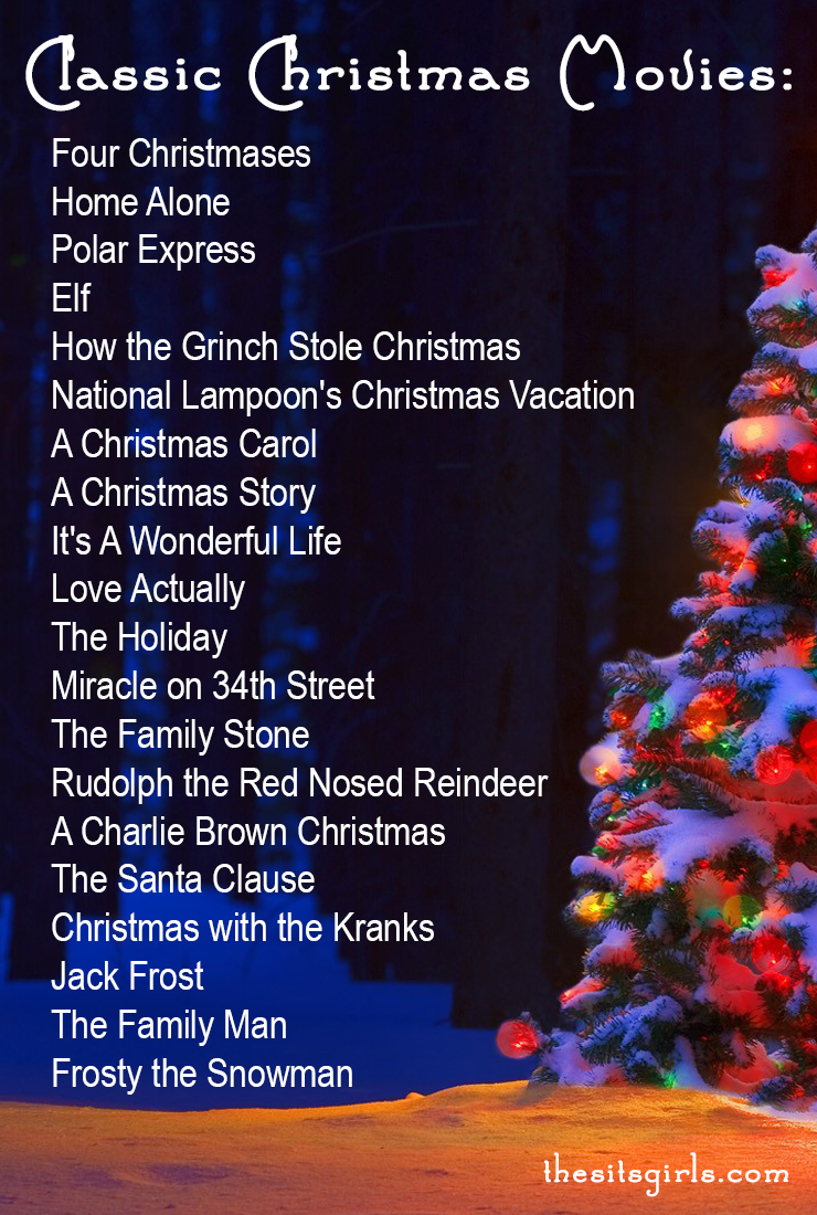Christmas Cheer To Do List Classic Christmas Movies