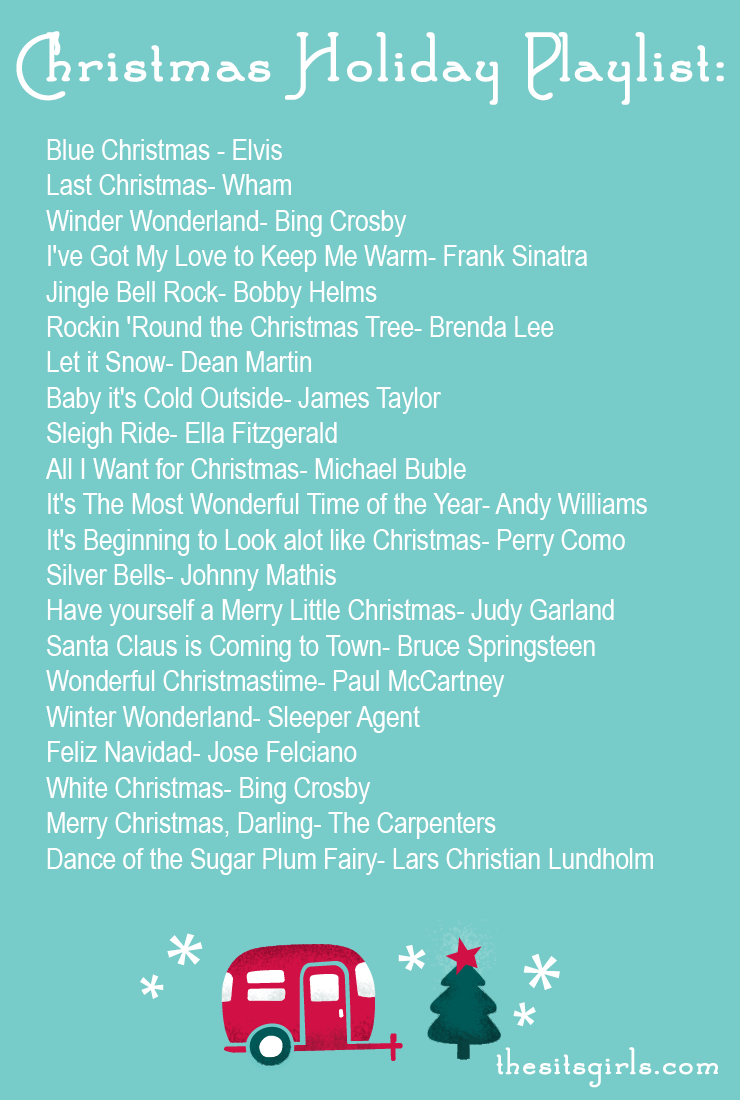 Christmas Playlist | All the songs you need to fill the air with Christmas songs and cheer!