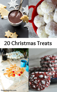 20+ Christmas Treats - easy and delicious recipes that are perfect for homemade Christmas gifts!
