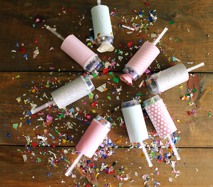Celebrate in style with these fun poppers!