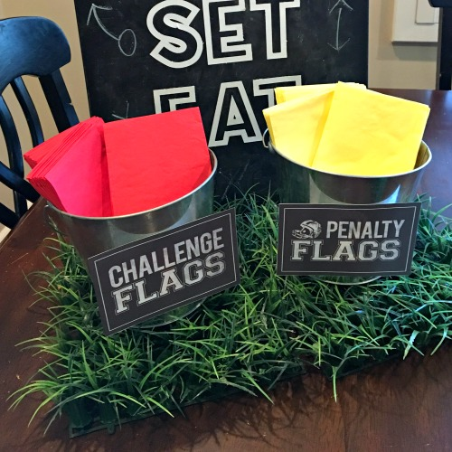 These are the cutest printables for your Football Party!