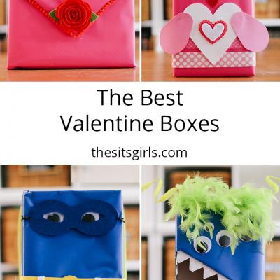 4 DIY Valentine Mailboxes | Easy Valentine Mailbox