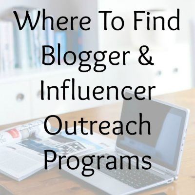 Where To Find Blogger & Influencer Outreach Programs