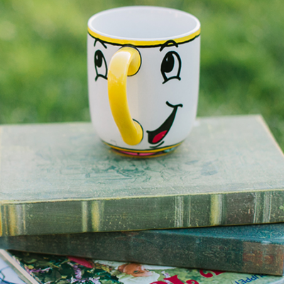 DIY Chip Mug Inspired By Beauty And The Beast