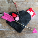 Try making an adorable Danish woven heart for Valentine's Day!