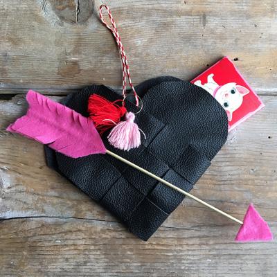 Woven Heart Valentine