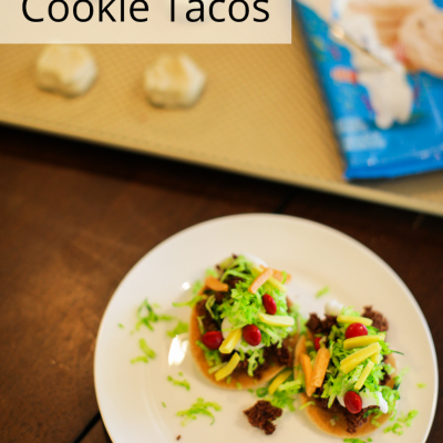 How To Make Cookie Tacos For Taco Tuesday