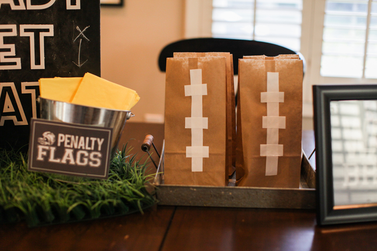 Transform simple lunch bags into a fun football craft!