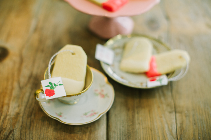 Tea bag sugar cookies... yes please!