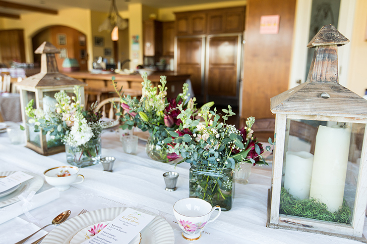 We are loving these floral arrangements!
