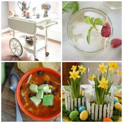 March 14th: Recipe & DIY Linky