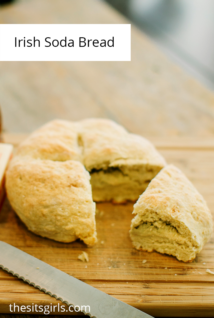 Irish Soda Bread is such a fun St Patrick's Day tradition!