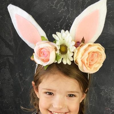 DIY Bunny Ears Headband
