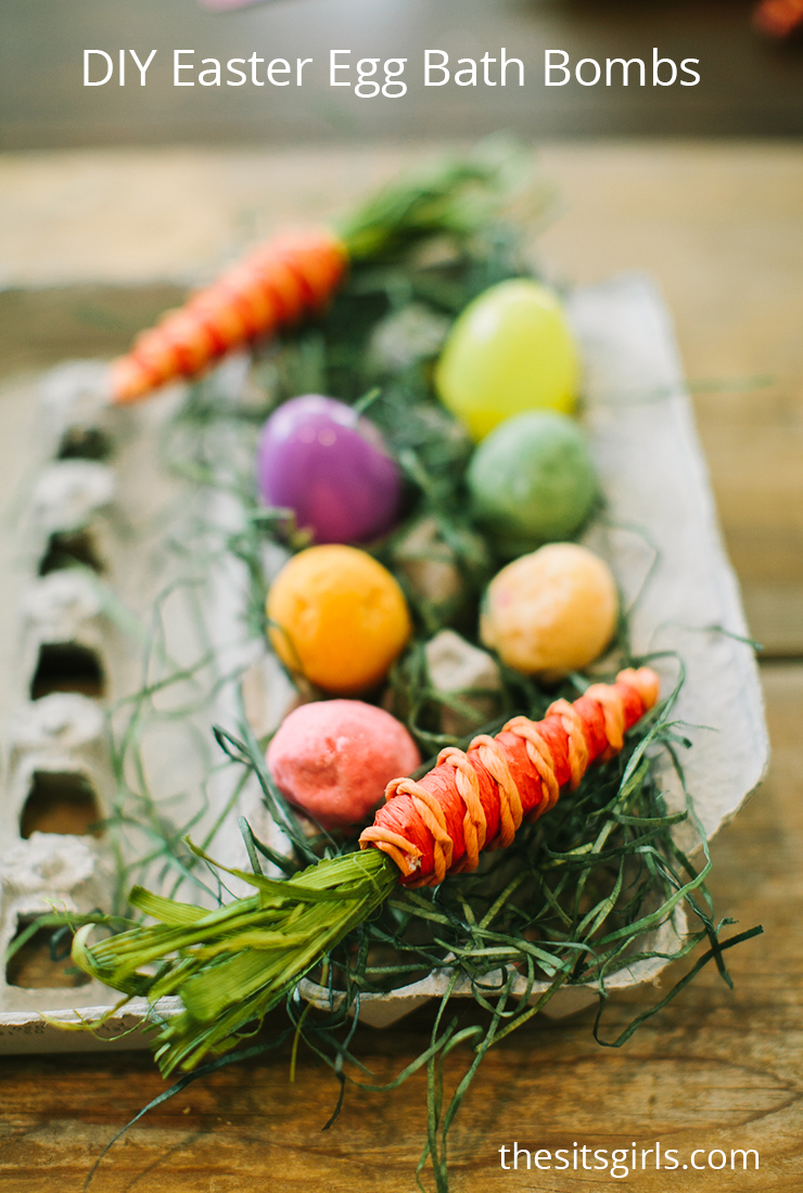No more fuss to get your kids to take a bath! These surprise Easter egg bath bombs will have your kids EXCITED to wash up!