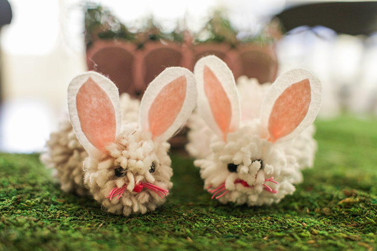Make these cute bunnies for Easter!