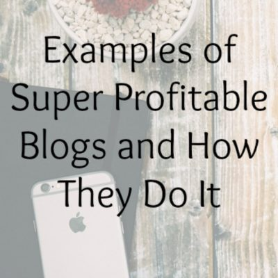 Examples of Super Profitable Blogs and How They Do It