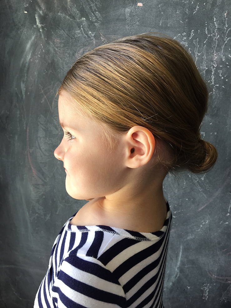Use our DIY tool for a quick updo!