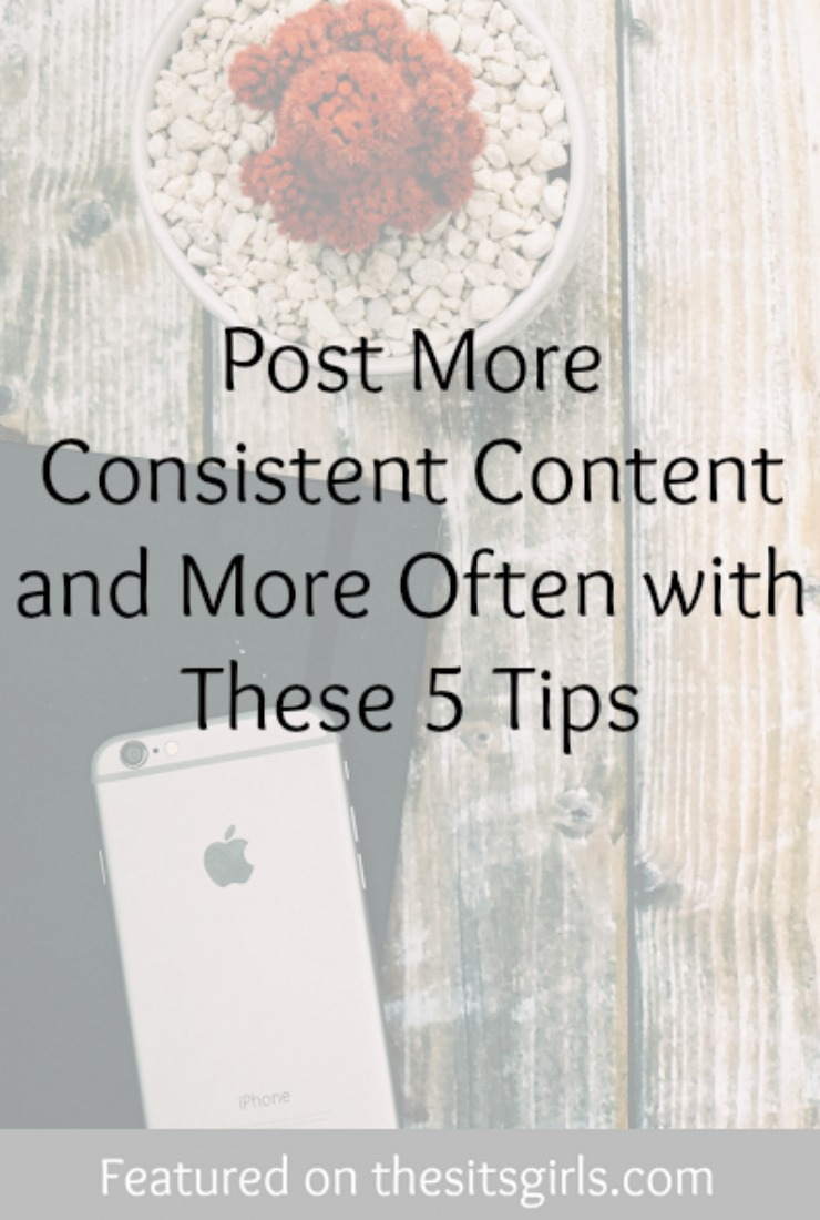 consistent content