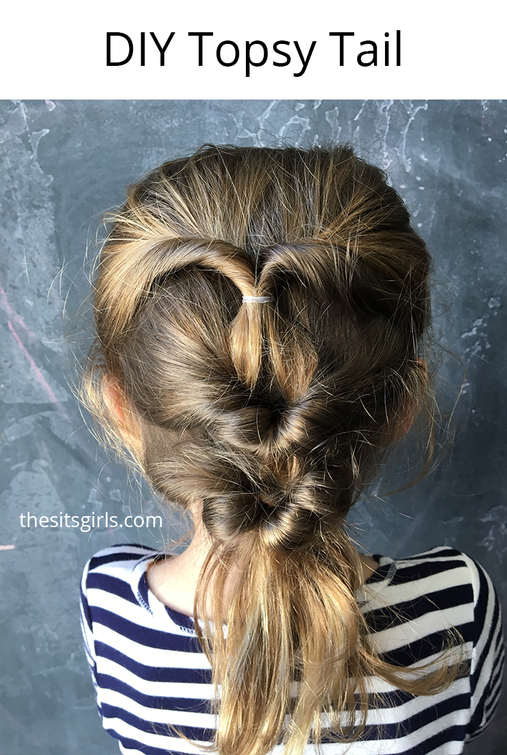 Make your own DIY Topsy Tail and create beautiful hairstyles.