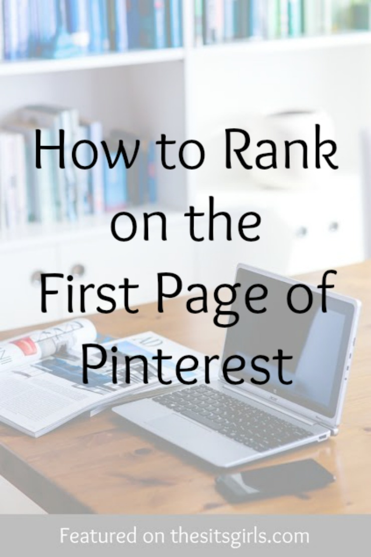 first page of pinterest